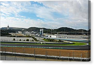 Circuito De Jerez 2011 Canvas Print by Juergen Weiss
