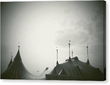 Circus Tent Canvas Print by Copyright Lynn Longos