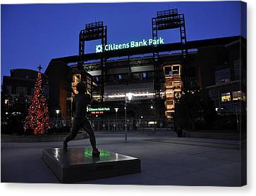 Citizens Bank Park Canvas Print by Andrew Dinh