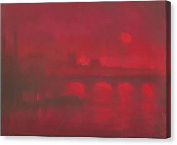 City Mist 1 Canvas Print by Paul Mitchell
