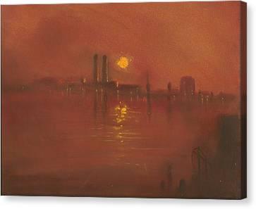 City Mist 3 Canvas Print by Paul Mitchell