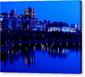 Cityscape Canvas Print by Andre Faubert