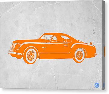 Classic Car 2 Canvas Print by Naxart Studio