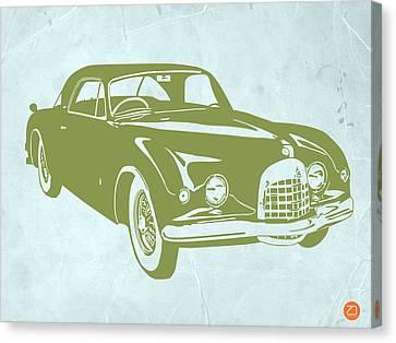 Classic Car Canvas Print by Naxart Studio