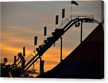 Classic Coaster Canvas Print by David Lee Thompson