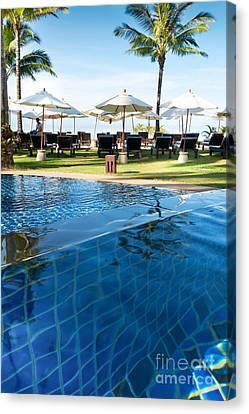Clear Water Canvas Print by Atiketta Sangasaeng