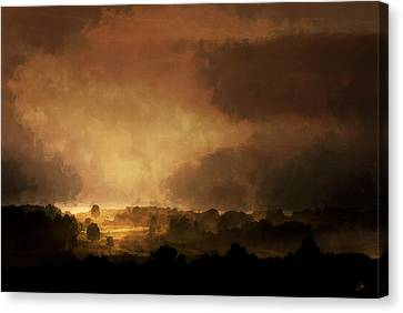 Clearing Storm Canvas Print by Ron Jones