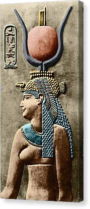 Cleopatra Vii Canvas Print by Sheila Terry