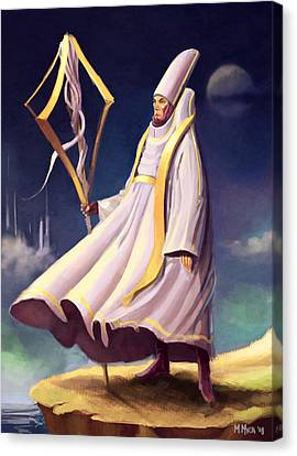 Cleric Canvas Print by Michael Myers