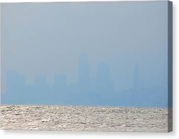 Cleveland Ohio Canvas Print by Peter  McIntosh