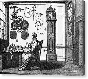 Clockmaker Canvas Print by Science Source