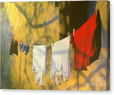 Clothing Canvas Print by Odon Czintos