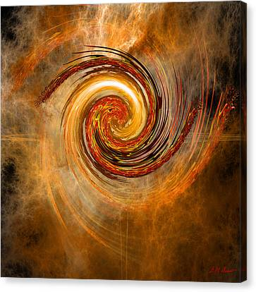 Cloud Vortex Canvas Print by Michael Durst