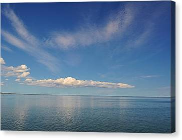 Clouds Of Prince Edward Canvas Print by Jeff Moose