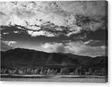 Clouds Over Cades Cove Canvas Print by Andrew Soundarajan