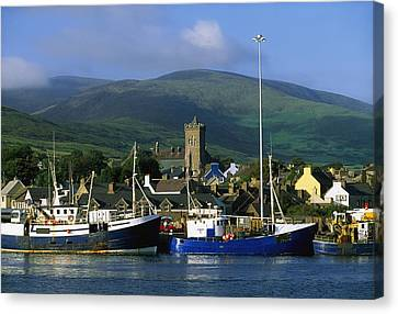 Co Kerry, Dingle Harbour Canvas Print by The Irish Image Collection