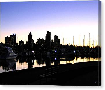 Coal Harbour Canvas Print by Will Borden
