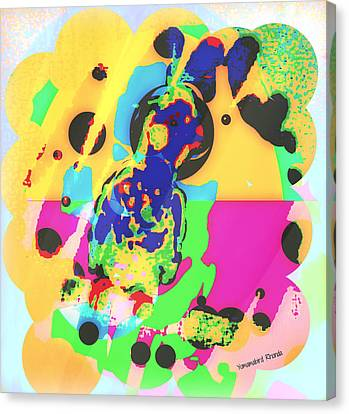 Cockatiel Youngster II Canvas Print by YoMamaBird Rhonda
