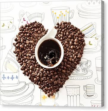 Coffee Break Canvas Print by Ivan Vukelic