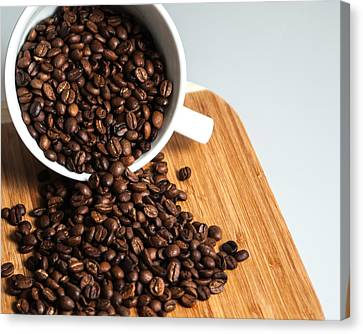 Coffee Cup Canvas Print by Jack Scicluna