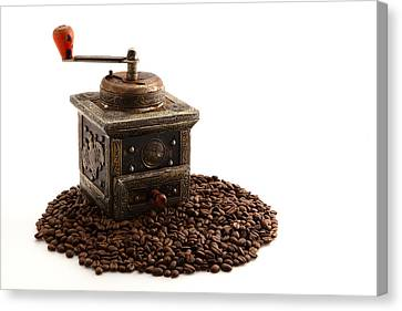 Coffee Canvas Print by Tom Gowanlock