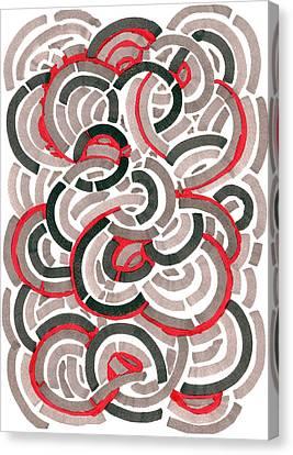Coils Canvas Print by Jason Messinger