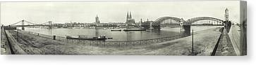 Cologne - Germany - C. 1921 Canvas Print by International  Images