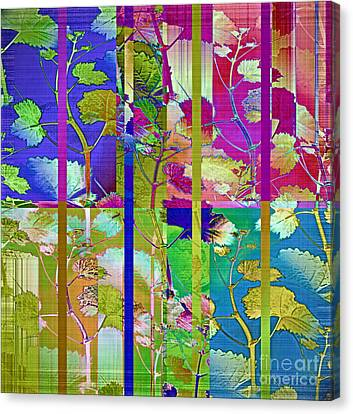 Color Blind Canvas Print by Gwyn Newcombe