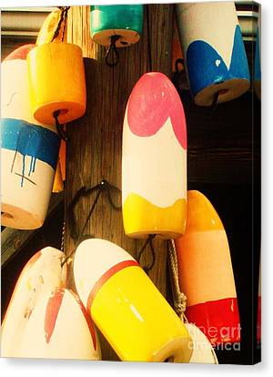 Color Blocks Canvas Print by Julia-Rose Liptak