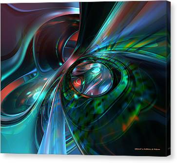 Color Fast Faces  Canvas Print by G Adam Orosco