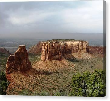 Colorado National Monument Canvas Print by Patricia Januszkiewicz