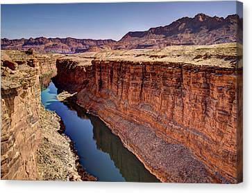 Colorado River Canvas Print by Jon Berghoff