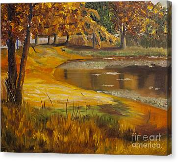 Colorful Glory Canvas Print by Art Hill Studios