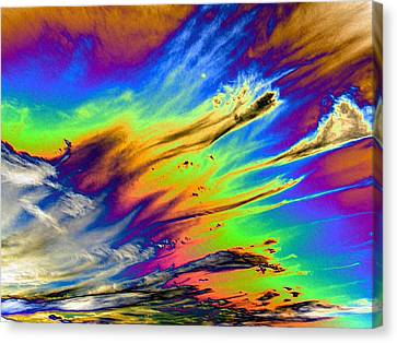Colors Canvas Print by Kathleen Nash