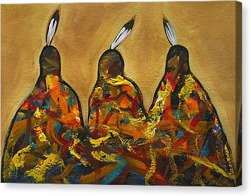 Colors Of Three Canvas Print by Lance Headlee