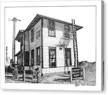 Columbus New Mexico  Canvas Print by Jack Pumphrey