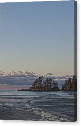 Combers Beach At Dawn, Tofino, British Canvas Print by Robert Postma