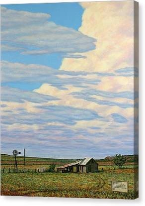 Come In Canvas Print by James W Johnson