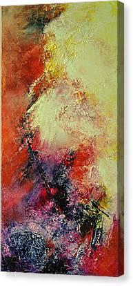 Comete Canvas Print by Francoise Dugourd-Caput