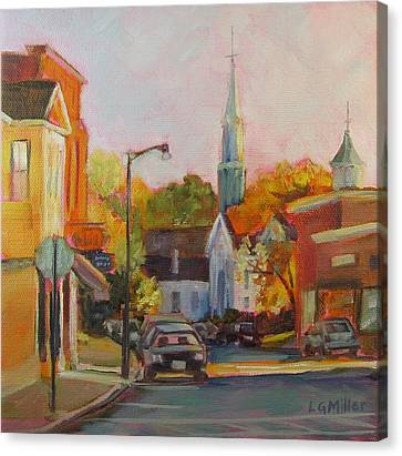 Concord Afternoon Canvas Print by Laurie G Miller