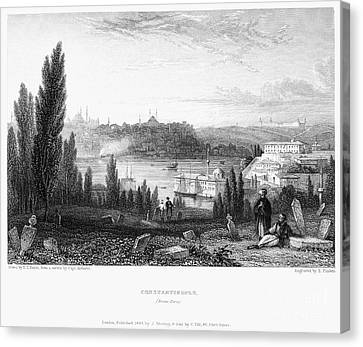 Constantinople, 1833 Canvas Print by Granger