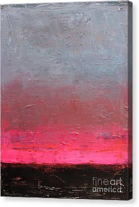 Contemporary Abstract Painting Canvas Print by Svetlana Novikova