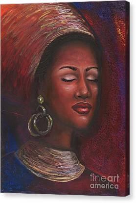 Contentment Canvas Print by Alga Washington