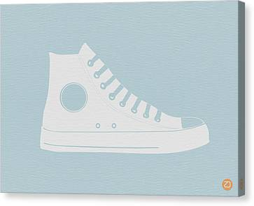 Converse Shoe Canvas Print by Naxart Studio