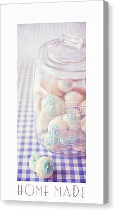 Cookie Jar Canvas Print by Priska Wettstein