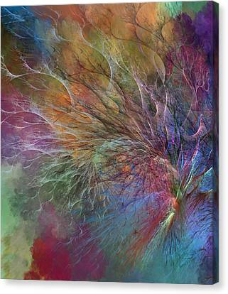 Coral Depths Canvas Print by Betsy C Knapp