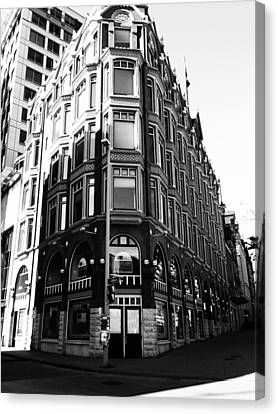 Corner Building Canvas Print by Kevin Gilchrist