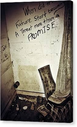 Corner Of Threat  Canvas Print by JC Photography and Art