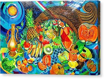'cornucopia' Canvas Print by Mario Villareal