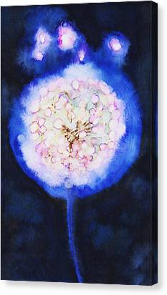 Cosmic Bloom Canvas Print by Tara Thelen